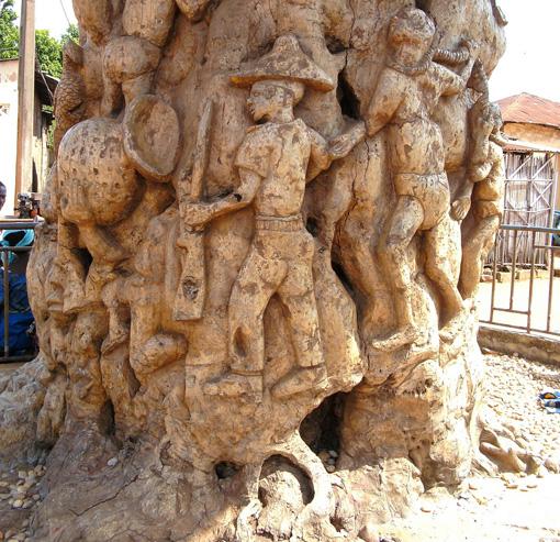 l'Arbre de l'Oubli - Ouidah, au Bénin, la Route de l'esclave