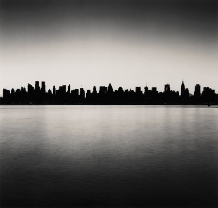 Manhattan skyline, study 1, New York