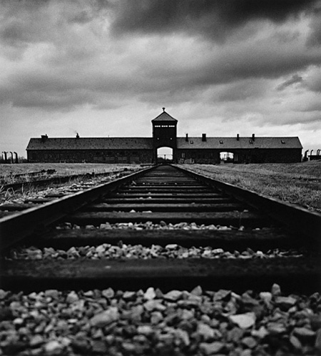 Concentration Camps-SS Guard House, (Death Gate), Birkenau, Poland, 1992