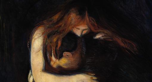 Edvard Munch, Le Vampire, 1893