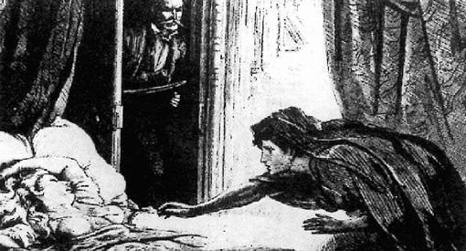 Illustration pour The Dark Blue, D. H. Friston pour Carmilla, 1872