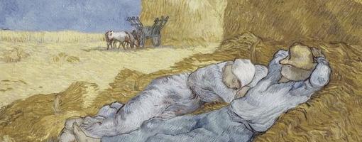 Vincent Van Gogh - La méridienne ou La sieste