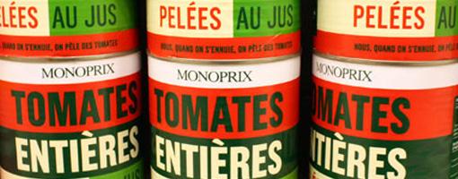 Monoprix - Tomates