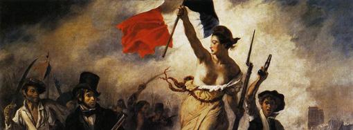 Nike FFF - La liberté guidant le peuple de Delacroix