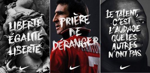Campagne Nike FFF