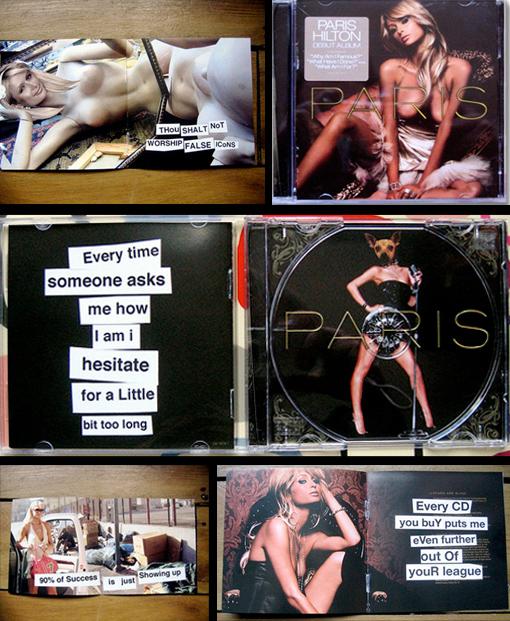 Banksy V.S Paris Hilton