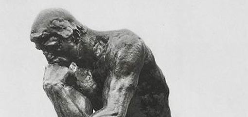 Rendez-vous en terre inconnue - Le penseur - Rodin